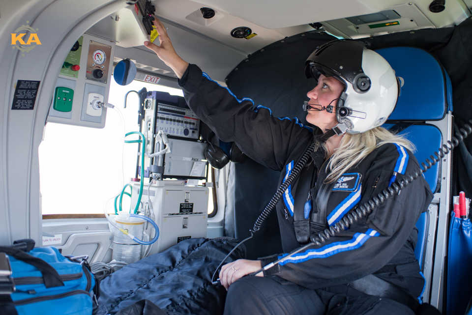 Care Flight ride along - Kelly Ann Photography