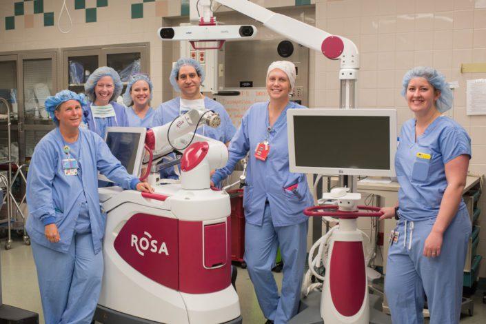 Kelly Ann Photography Commercial Dayton Cincinnati Ohio Medical ROSA team surgery