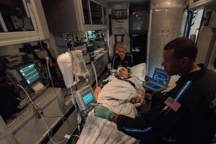 Kelly Ann Photography Commercial Dayton Cincinnati Ohio Medical Trauma EMT ambulance location