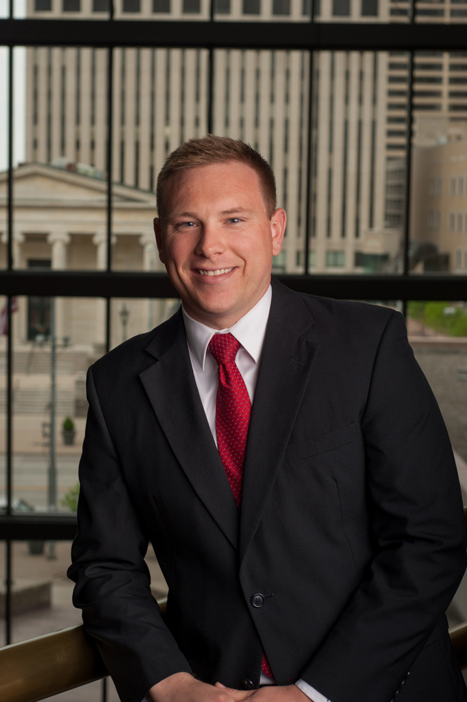 Kelly Ann Photography Commercial Dayton Cincinnati Ohio head shot lawyer courthouse on location studio