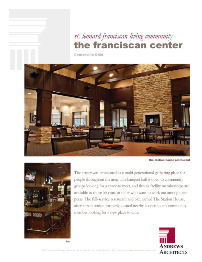 Project Completion - Franciscan Center - Kelly Ann Photos- Dayton