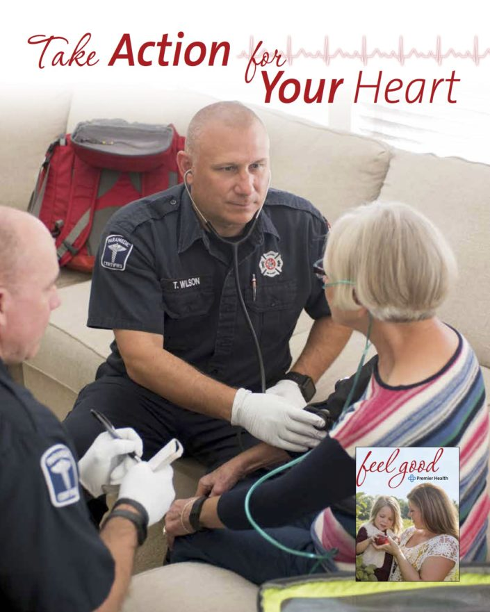 Kelly Ann Photography Commercial Dayton Cincinnati Ohio tear sheets Premier Health EMS Feel Good Magazine Published
